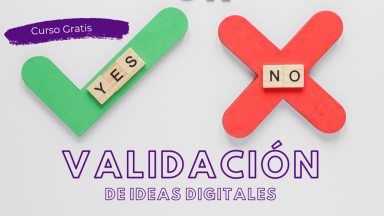 validación de ideas digitales